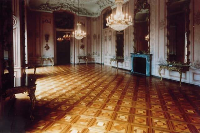 J. Schrank Parkett Bodenverlegung für Schloss Benrath